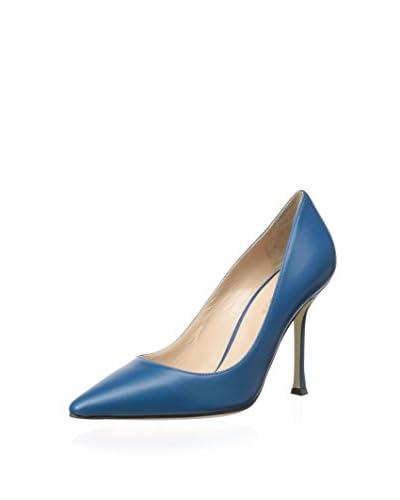 Sergio Rossi Women's Secret Pointed Toe Pump  [Baby Blue]