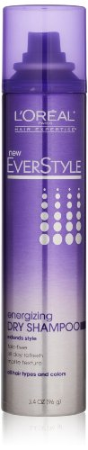 L'Oreal Paris Everstyle Texture Series Energizing Dry Shampoo, 3.4 Oz.
