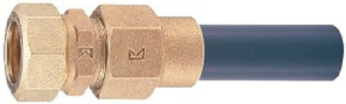 キッツ鉛フリー青銅水道用ポリ管2種用金属継手 KCPジョイント 塩ビ管用ソケット 2VSP-TS20
