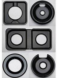 Range Kleen P-106 Porcelain GE, Hotpoint, and Kenmore Drip Burner Pan