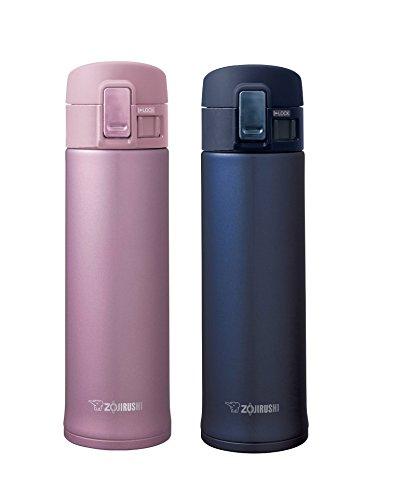 Zojirushi Stainless Steel Mugs, Smoky Blue & Lavender Pink (Zojirushi Mug Lavender compare prices)