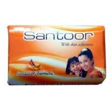 Santoor sandal and turmeric soap 75 gm
