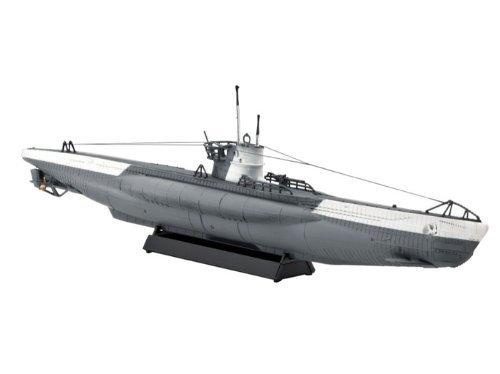 Revell-05093-Modellbausatz-U-Boot-Typ-VIIC-im-Mastab-1350