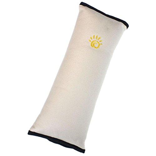 Generic® Baby-Kinder-Autositz Sicherheitsgurt Schulterabdeckung Kissen(Beige)