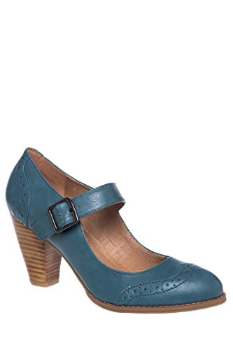 Mandy Mary Jane Mid Heel Pump