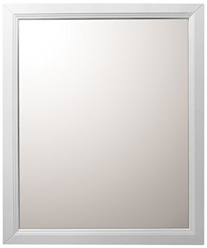 Bellaterra Home 7610-M-WH Mirror, 30-Inch, White