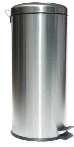 30 liter tret abfalleimer edelstahl mattiert ean 4032707324079. Black Bedroom Furniture Sets. Home Design Ideas
