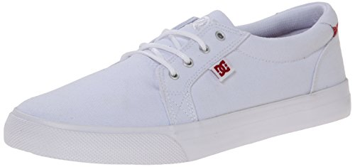DC Women's Council TX SE Skate Shoe, White, 8.5 B US