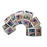 USPS Forever Stamps Four Flags Roll of 100