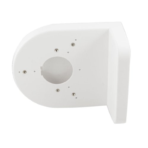 White plastic wall mount Holder Stand for CCTV DVR Camera New TS