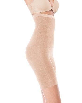 spanx-slimmer-shine-midthigh-bodysuit-x-large-rose-gold-apparel