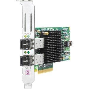 HP 82E 8GB Dual-Port PCI-E FC Host Bus Adapter AJ763B