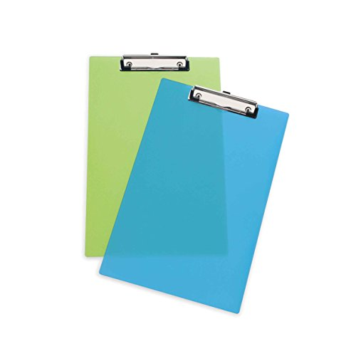 rapesco-clipboard-a4-foolscap-frosted-transparent-assorted-colours