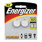 Energizer 2025BP-2 Lithium Button Cell Battery (2 Pack)