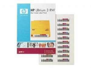 HP Ultrium 3 RW Bar Code Label Pack