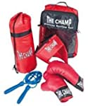 KIDS CHAMPION BOXING KIT INCLUDES GLOVES