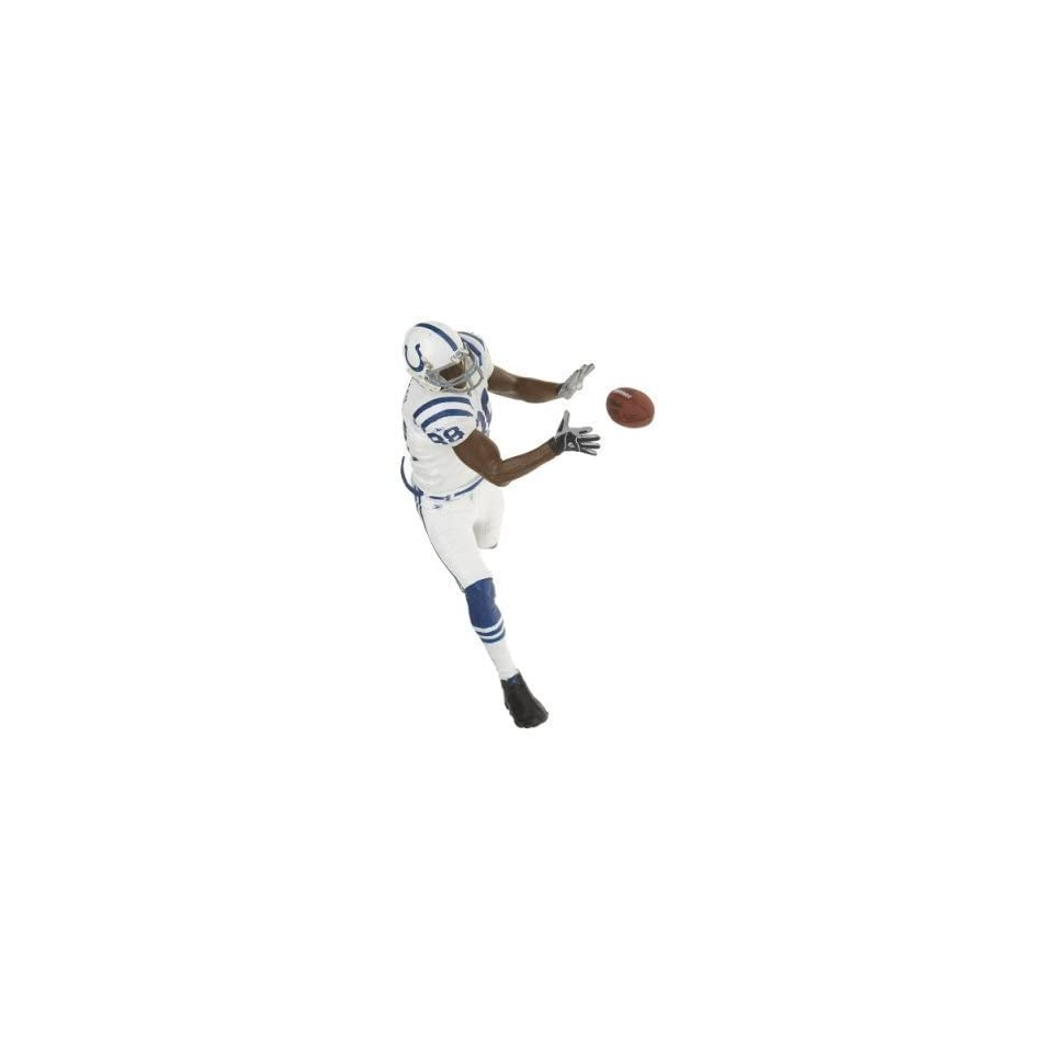 McFarlane NFL 12 Marvin Harrison in Colts White Jersey Figure