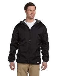 Dickies Fleece-Lined Hooded Jacket in Black - XX-Large