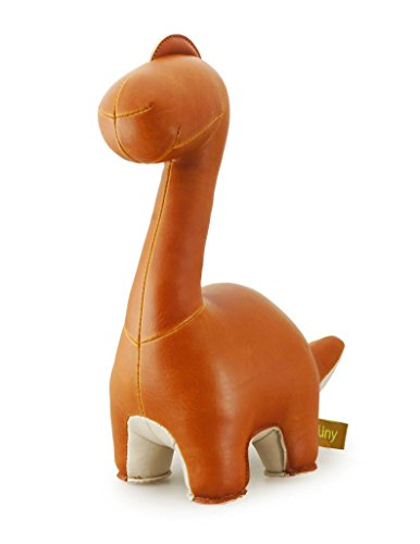Zuny Brontosaurus (Rano) Animal Bookend - Tan - 1