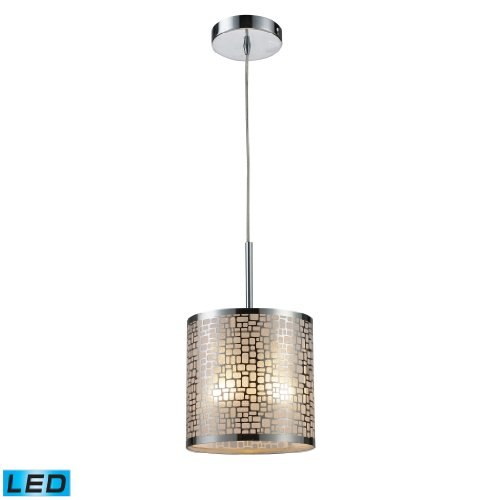 Medina 1-Light Pendant In Polished Stainless Steel - Led Offering Up To 800 Lumens (60 Watt Equivalent) With Full Range Dimming. Includes An Easily Replaceable Led Bulb (120V).