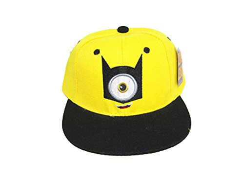 New arrival baseball cap Despicable Me minions Hip-hop hat for adults
