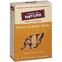 Back To Nature Honey Graham Stick Cookies ( 6x8 OZ) ( Value Bulk Multi-pack)