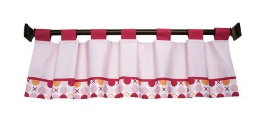 Simply Baby - Hugs & Kisses Window Valance, Girl's Room - 1