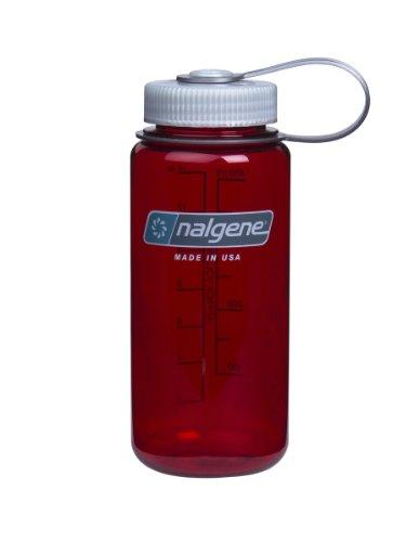 nalgene(ナルゲン) カラーボトル 広口0.5L トライタンボトル Outdoor Red 91172