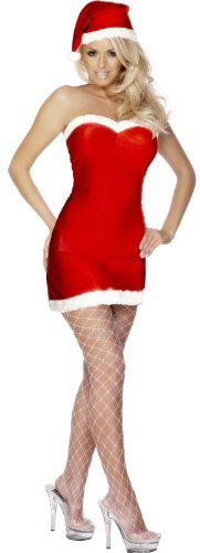 Sexy red christmas costume for women