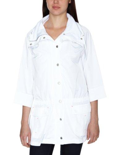 DKNY Poly Nylon Plain Weave Cinch Back Women's Jacket