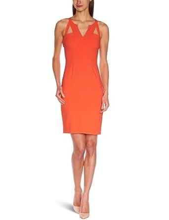 BCBGMAXAZRIA Women's Macie Sheath Dress, Poinsettia, 4