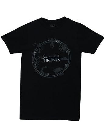 Isaac Morris Game Of Thrones Seven Houses Men's T-shirt S