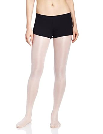 Capezio Women's Low Rise Boy Cut Short,Black,X-Small