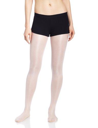 Capezio Women's Low Rise Boy Cut Short,Black,Small Cheer Shorts