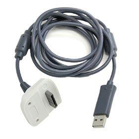 cable chargeur pour manette sans fil xbox 360 jeux vid o. Black Bedroom Furniture Sets. Home Design Ideas