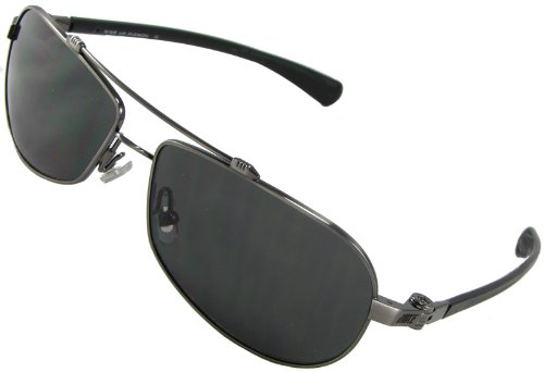 Nike Supercharged 400 Flexon Aviator Sunglasses EV0453-919