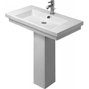 Duravit Pedestal Sink : ... kitchen bath fixtures bathroom fixtures bathroom sinks pedestal sinks