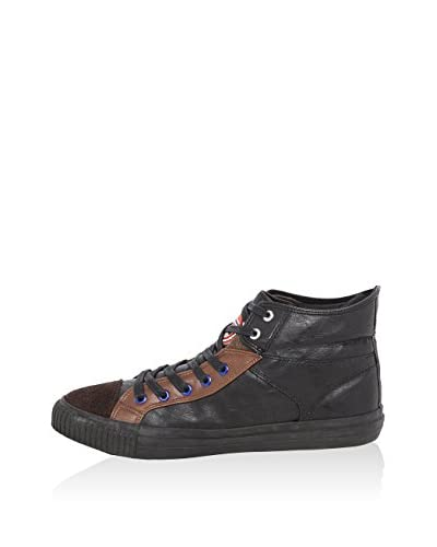 Nebulus Zapatillas abotinadas Flyer Negro