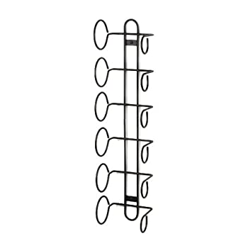 Set A Shopping Price Drop Alert For Spectrum 48810 Wall Mount Wine Rack, 6-Bottle, Black