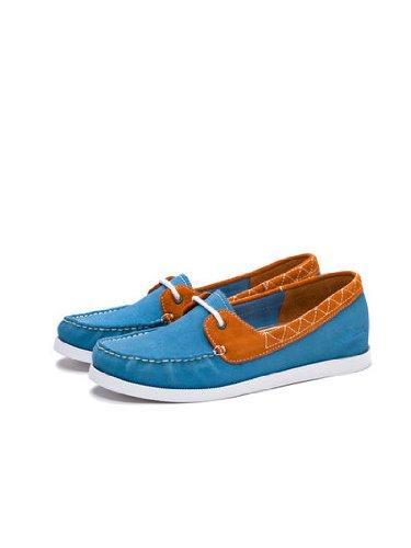 Pointer Women's Alice Jaffa/Burnt Copper Boat Shoes