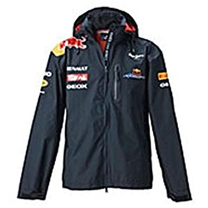 Auto Racing Jacket on Red Bull Racing Replica Jacke Regenjacke Formel 1 Team Sebastian
