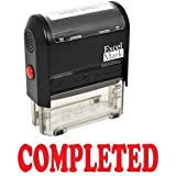 COMPLETED Self Inking Rubber Stamp - Red Ink (42A1539WEB-R)