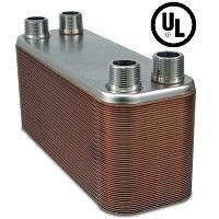 60-plate Brazed Plate Heat Exchanger, 1\