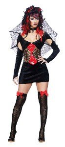 Nightmare Black Widow Sexy Large Costume
