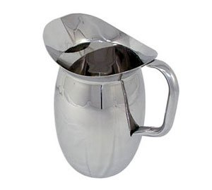 Winco WPB-2C Deluxe Bell Pitcher w/Ice Catcher from Winco