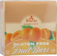 Betty Lou's Gluten Free Fruit Bars Apricot -- 12 Bars