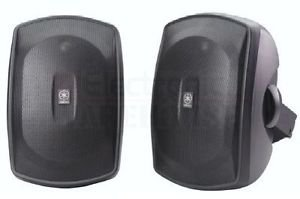 Yamaha Ns-Aw390 Main / Stereo Speakers Ns-Aw390Bl Black Good Gift Ship Worldwide Fast Shiiping