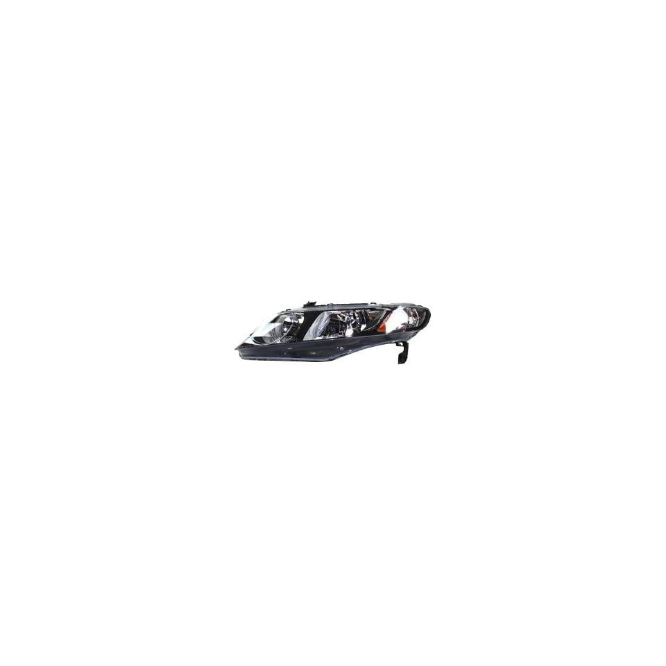 TYC 20 6734 91 Honda Civic Driver Side Headlight Assembly
