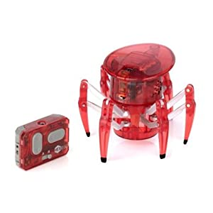 HEXBUG Spider: Red [Micro Robotic Creatures]