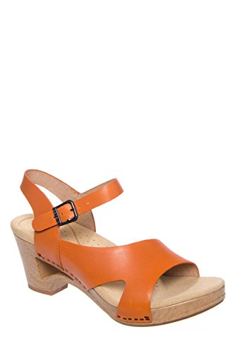 Dansko Tasha Low Heel Ankle Strap Sandal